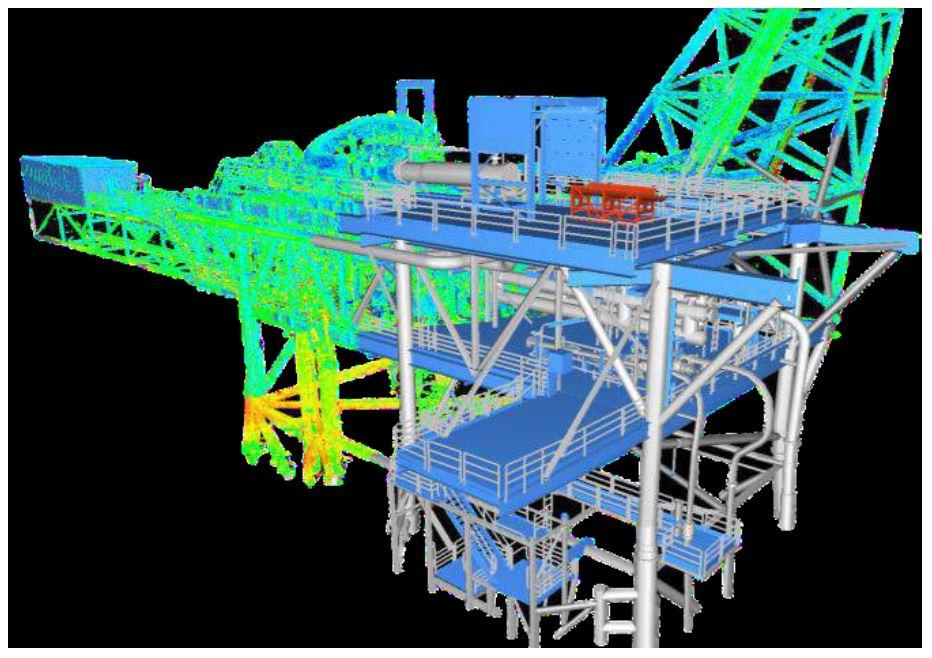 Planos con escaner laser - Escaneo
